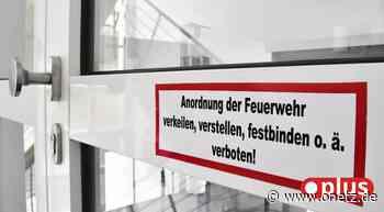 Beim Brand im Altenheim Vilseck haben Schutztüren Schlimmeres verhindert - Onetz.de