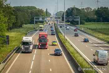 Plan voor langere spitsstrook op E313 van Ham tot Hasselt-Oost - Het Belang van Limburg
