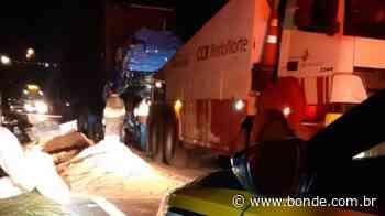 Acidente entre dois caminhões mata homem na BR-376, em Ortigueira, nesta segunda - Bonde. O seu Portal de Notícias do Paraná