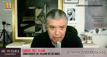 """History estrena episodio de """"Inexplicable"""" con 'El Milagro de los Andes' - Prensario.Net"""