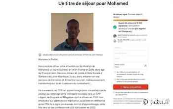 De Bouaye, il lance une pétition pour que Mohamed, réfugié guinéen, reste en France - actu.fr