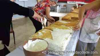 Pelo segundo ano, capela Santo Antônio de Paranavaí não terá tradicional bolo - ® Portal da Cidade | Paranavaí
