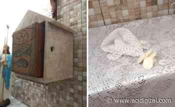 Capela é alvo de profanação e vandalismo em Campos - ACI Digital