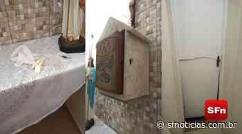 Capela de Nossa Senhora das Dores é invadida pela segunda vez em menos de uma semana - SF Notícias