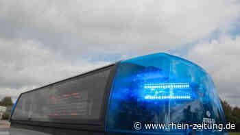 Verkehrsunfall unter dem Einfluss von Alkohol mit anschließender Unfallflucht - Rhein-Zeitung