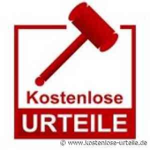 Verbandsgemeinde hat Anspruch auf weitere Förderung für den Neubau einer Kindertagesstätte - kostenlose-urteile.de