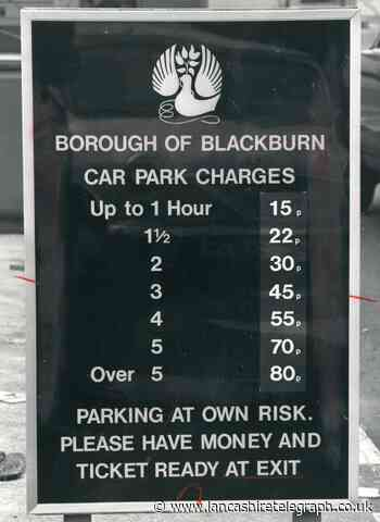 When car parking in Blackburn went up to 15p for hour's stay