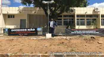 VÍDEO: OAB faz manifesto em frente ao forúm de Cajazeiras contra possível fechamento da 3ª Vara Mista - Diário do Sertão
