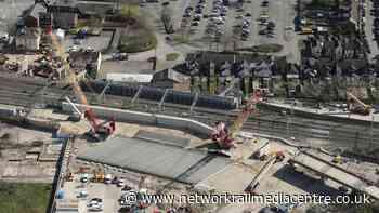 Huge leap over West Coast main line for East West Rail