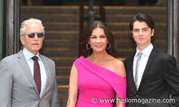 Catherine Zeta-Jones makes surprising confession about raising her children with Michael Douglas - HELLO!