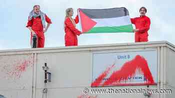 Palestine Action protesters storm UK aerospace plant - The National