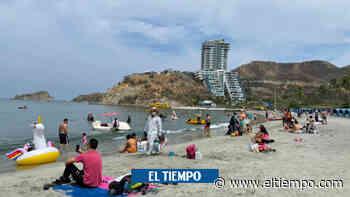 Así serán los cierres de las playas de Santa Marta - El Tiempo