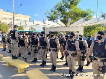 Polícia Militar de Paracatu comemora 246 anos da PMMG com operação Alferes - Paracatunews