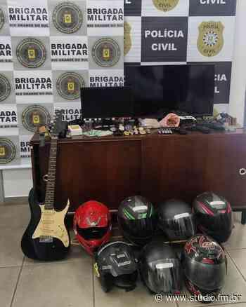 Brigada Militar e Polícia Civil realizam operação em Lagoa Vermelha - Rádio Studio 87.7 FM | Studio TV | Veranópolis