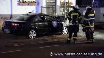 Ginsheim-Gustavsburg nahe Rüsselsheim: Tödlicher Unfall – 22-jähriger Mann kracht gegen Gasthaus - Hersfelder Zeitung