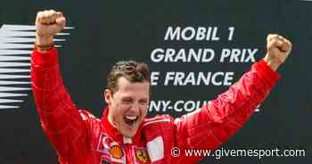 WATCH: Michael Schumacher seals title no.5 at the French Grand Prix - GIVEMESPORT