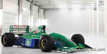 You Can Own Michael Schumacher's First F1 Car - RoadandTrack.com