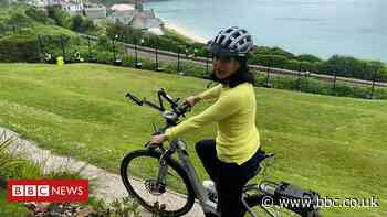 G7 summit: A cycling tour of Cornwall's G7 village
