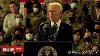 President Joe Biden arrives in the UK ahead of the G7 summit