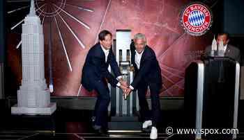 FC Bayern München, News und Gerüchte: Empire State Building leuchtet in FCB-Rot - SPOX