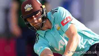 T20 Blast: Will Jacks scores 70 off 24 balls as Surrey beat Middlesex