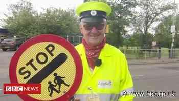 Covid: Burnley man, 82, returns to lollipop job after surviving virus