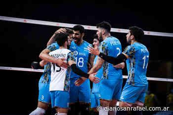 Importante victoria de Argentina en la VNL de vóley - Diario San Rafael