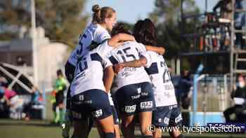 Fútbol femenino: Gimnasia de La Plata venció a Racing en un duelo clave - TyC Sports