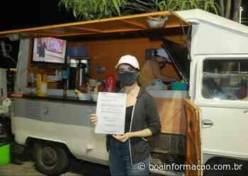 Fiscalização de postura da SEDETUR Penedo notifica food trucks e ambulantes irregulares - Boa Informação