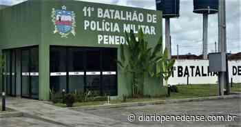 Registro policial do 11º Batalhão sediado em Penedo - Geraldo Jose