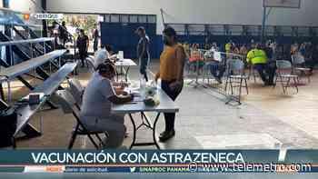 En Bugaba inicia la vacunación con AstraZeneca - Telemetro