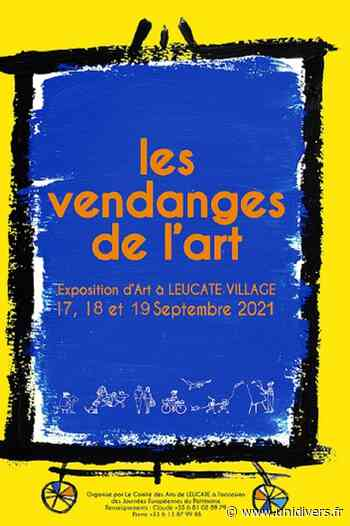 Événement artistique piétonnier « Les Vendanges de L'Art » Village samedi 18 septembre 2021 - Unidivers