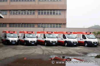 Governo entrega ambulâncias para ampliar atendimento de urgência na região de Irati - Bem Paraná - Bem Paraná