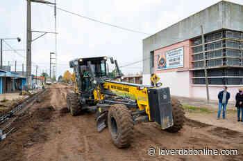 Avenida La Plata: «Antes de terminar el mandato, podremos concretar el pavimento» - Diario La Verdad Junín