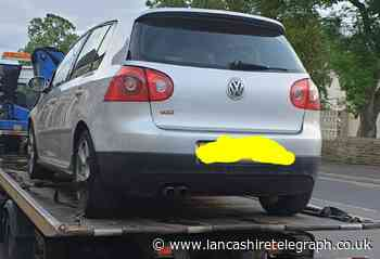 Car seized and man arrested on suspicion of money laundering