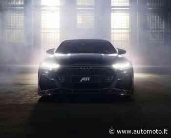 Audi RS 6 Johann ABT Signature Edition, 800 CV di potenza e un pezzo d'incudine nell'auto - Automoto.it