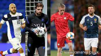 Four Canaries ready for international duty - UEFA Euro 2020 preview