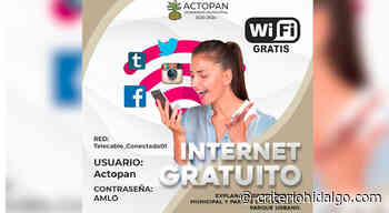 """Amonestan a alcaldesa de Actopan por usar """"AMLO"""" como contraseña de Internet gratis - Criterio Hidalgo"""