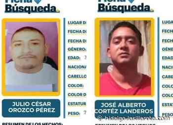 Desaparecen 2 hombres en Actopan y Tizayuca; sus familias los buscan - La Silla Rota