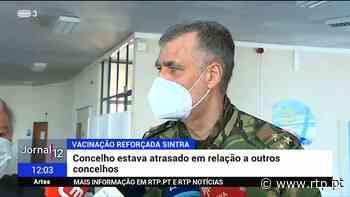 Vacinação em Sintra vai ser reforçada - RTP