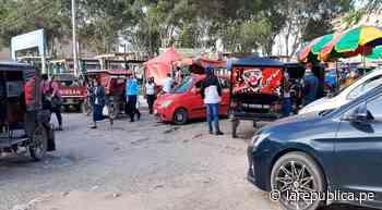 Chiclayo: caos vehicular se apodera de exteriores del mercado Modelo LRND - LaRepública.pe
