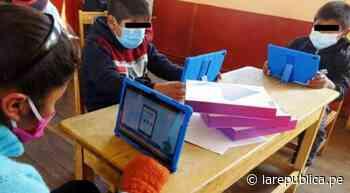 Chiclayo: más de 7.000 escolares tienen problemas de conectividad - LaRepública.pe