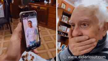 Enzo Francescoli sorprendió a un abuelo de Monte Grande - El Diario Sur