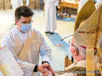 Neupriester wird Vikar in Brakel - Westfalen-Blatt