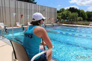 Eure. Gaillon : les nageurs ne cachent pas le plaisir de retrouver dans les bassins d'Aquaval - actu.fr