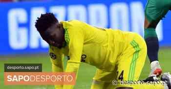 TAS reduz de um ano para nove meses a suspensão ao guarda-redes Onana - SAPO Desporto