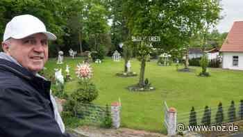 Skulpturenpark in Bohmte: Alfred Spoida hat einen Paradiesgarten für die Kunst geschaffen - noz.de - Neue Osnabrücker Zeitung