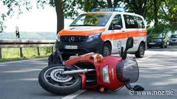 Kennzeichen gefälscht?: Motorradfahrer bei Unfall auf der B51 bei Bohmte schwer verletzt - noz.de - Neue Osnabrücker Zeitung