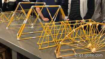 Destaque em Eng. Civil, UNIFEB, de Barretos promove construção de ponte em ação - G1