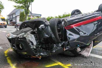 Unfall bei Wermelskirchen: Fahranfänger zerlegt Mini Cooper S - TAG24